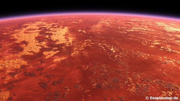 Landschaft von Proxima Centauri