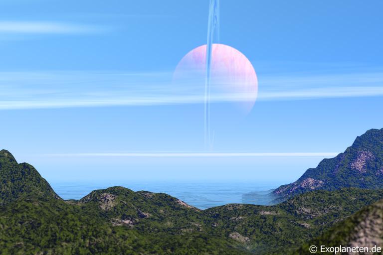Lebensfreundlicher Mond eines Gasriesen